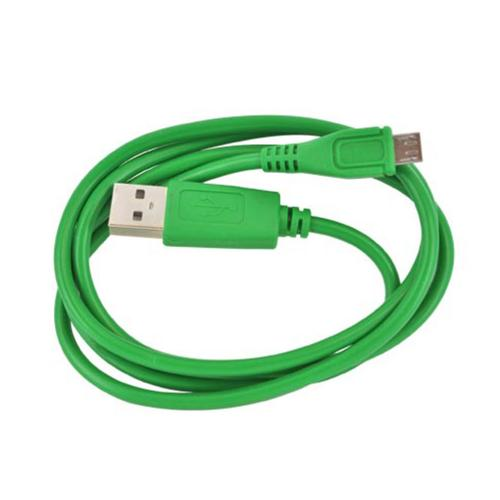 Universal USB to Micro USB Data Cable - Geeky Green