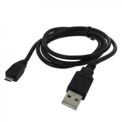 Black Micro USB Charger Sync Data Cable