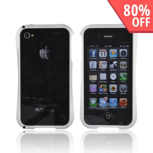 Original Cleave AT&T/ Verizon Apple iPhone 4, iPhone 4S Aluminum Bumper Case, DCB-IP4OA6SV - Silver