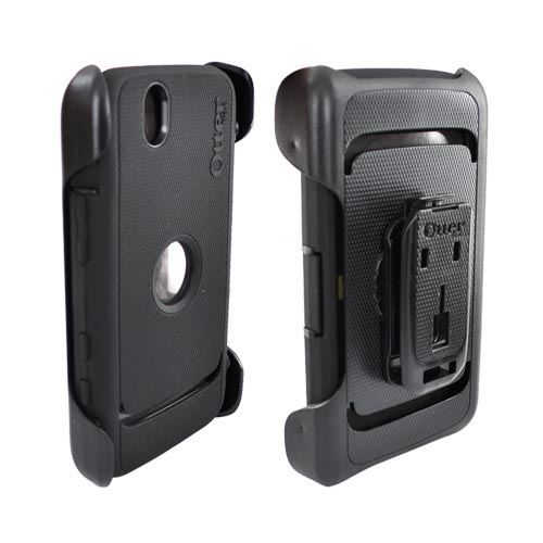 Original Otterbox Defender Dell Streak Hard Case w/ Holster and Screen Protector, DEL2-STRK1-20-C - Black