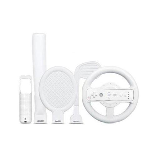 Original DreamGear 4-in-1 Player's Sports Kit for Nintendo Wii