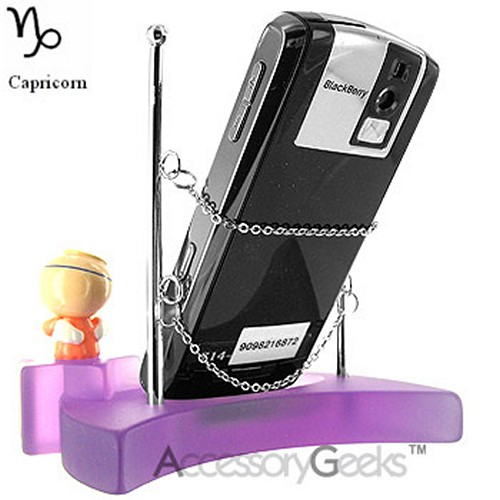 Baby Angel Cell Phone Holder & Display - Capricorn