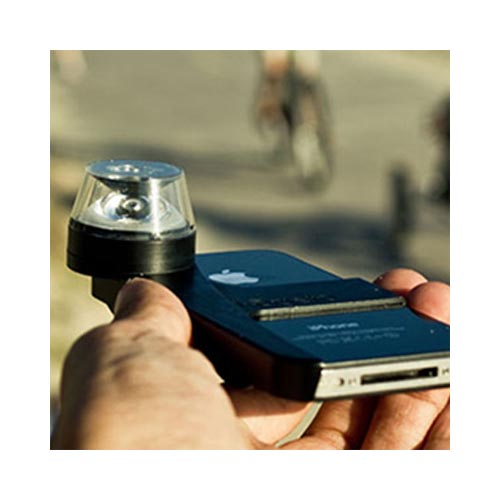 Original Kogeto Dot AT&T/ Verizon Apple iPhone 4, iPhone 4S 360° Panoramic Video Recorder - Black