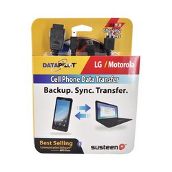 Original DataPilot Susteen Data Transfer Kit for Motorla/LG, DP260-111 - Black