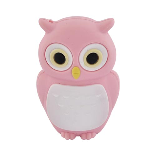 Original Bone Collection USB Flash Drive, DR10021-4P - Pink Owl (4GB)