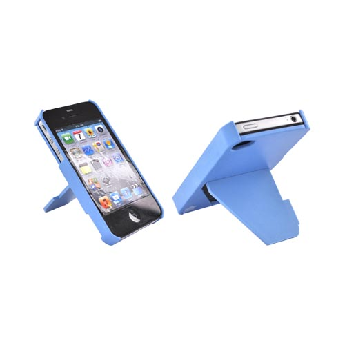 Original TRTL BOT Apple AT&T/ Verizon iPhone 4, iPhone 4S TRTL STAND Hard Case, DR2012BLU - Sky Blue