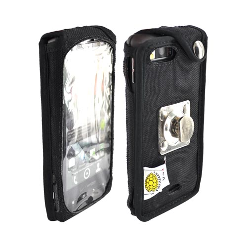 Original TurtleBack Premium Motorola Droid X MB810 Heavy Duty Nylon Case w/ Steel Belt Clip - Black