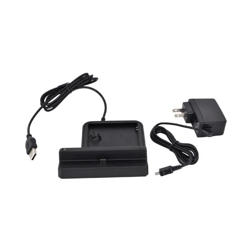 Samsung Galaxy Note 3-in-1 Desktop Sync n'Charge Phone/ Battery Charger - Black