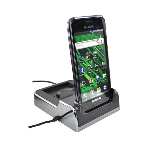 Samsung Vibrant T959 Twin Desktop Charge n' Sync Cradle - Black