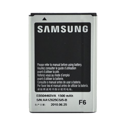 Original Samsung Intercept M910/Sidekick 4G Standard Battery Replacement, EB504465VA (1500mAh)