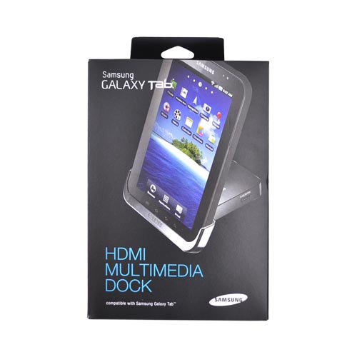 Original Samsung Galaxy Tab Charge n' Sync HDMI Media Dock, ECR-D980BEGSTA - Black