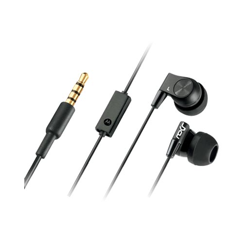 Original MotoROKR Sound Isolating Stereo Headset w/ Enhanced Bass, EH20 (3.5mm) - Black