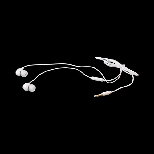 Samsung White Universal Stereo Earbud Headset w/ Mic & Volume Control (3.5mm) - EHS64AVFWE