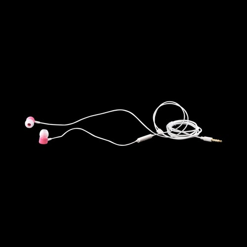 Samsung Pink HS130 Universal Earbud Stereo Headset w/ Remote (3.5mm)