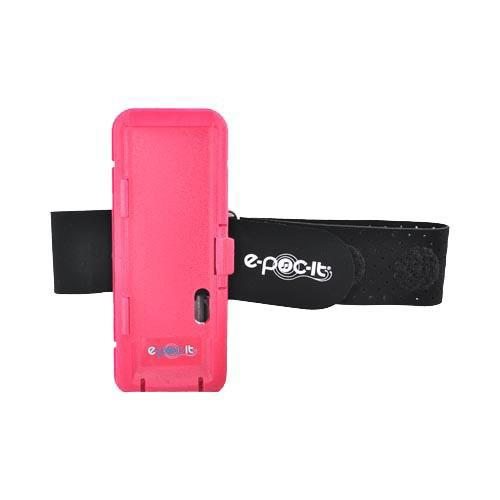 Original E-POC-IT Apple iPod Nano 4th & 5th Gen Dock and Armband Case w/ Magnetic Clip, EPIV1-PI - Pink