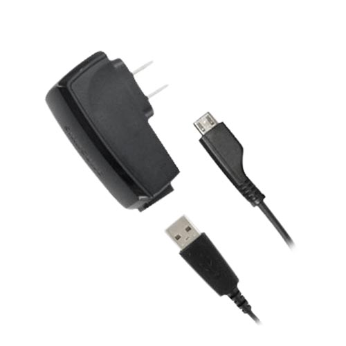Original Samsung Micro USB Detachable Travel A/C Charger, ETA0U20JBEBSTD - Black