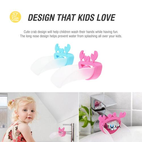 Blue Crab Water Faucet Tap Extender For Kids!