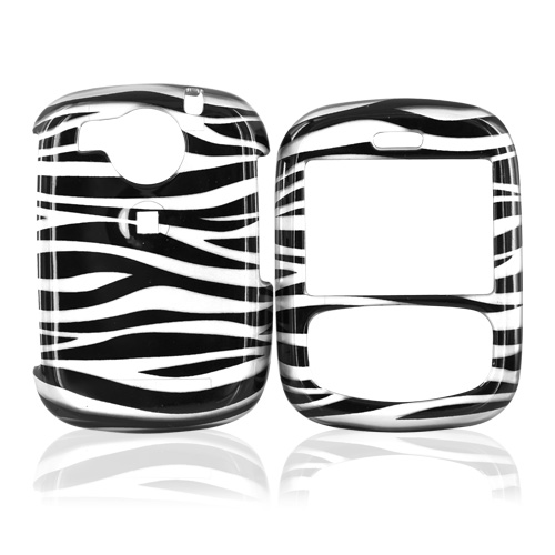 Cricket TXTM8 Hard Case - Silver/Black Zebra