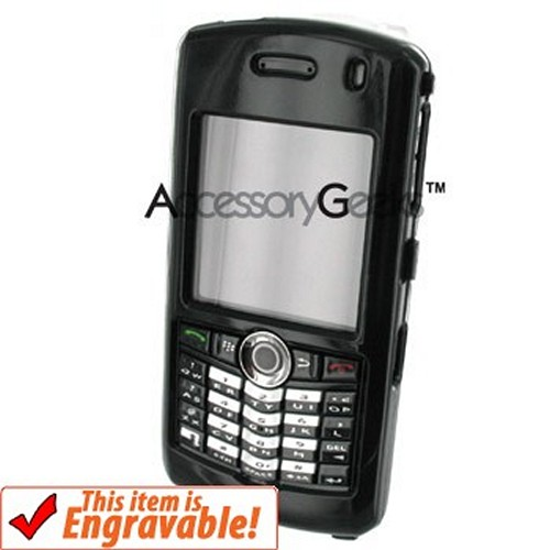Blackberry Pearl Protective Hard Case - Solid Black