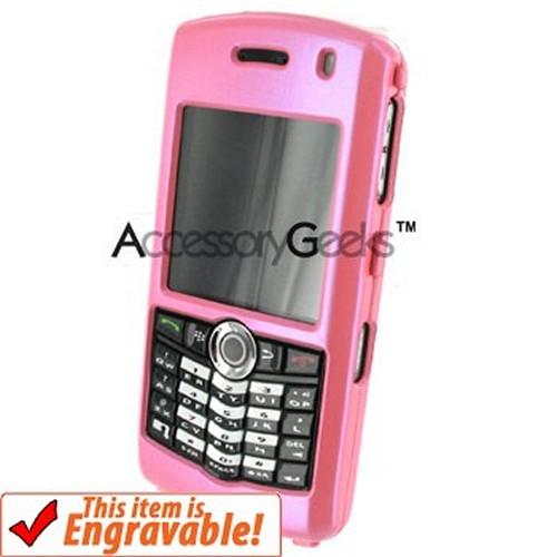 Blackberry Pearl Protective Hard Case - Baby Pink
