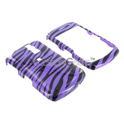 Blackberry Curve 8330, 8320, 8310, 8300 Hard Case - Purple Zebra