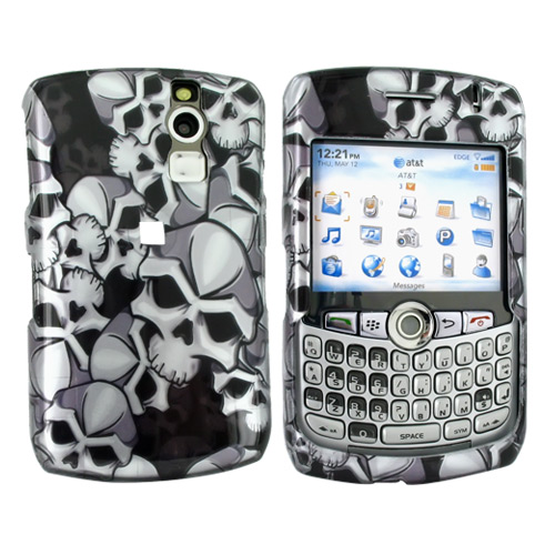 Blackberry Curve 8330, 8320, 8310, 8300 Hard Case - Skulls