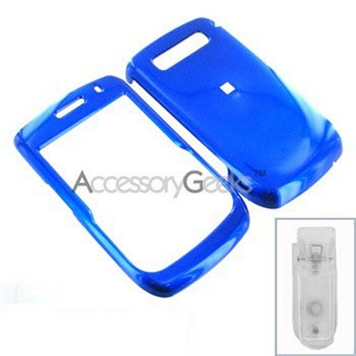 Blackberry Curve 8900 Hard Case - Blue