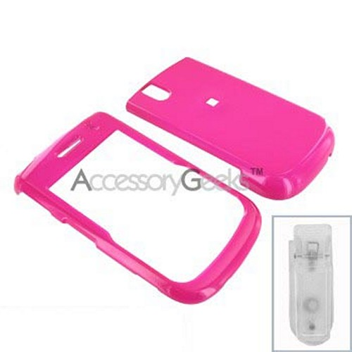 Blackberry Bold 9650 & Tour 9630 Hard Case - Hot Pink