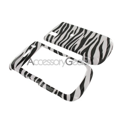 BlackberryBold 9650 & Tour 9630 Hard Case - Zebra