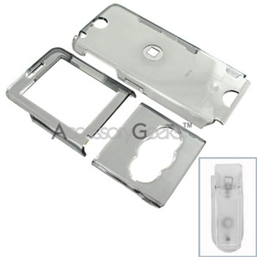 Sony Ericsson W350 Hard Case - Transparent Smoke