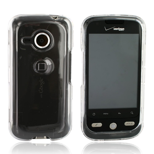 HTC Droid Eris 6200 Hard Case - Transparent Clear