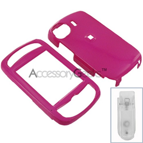 HTC MOGUL 6800 Protective Hard Case - Hot Pink