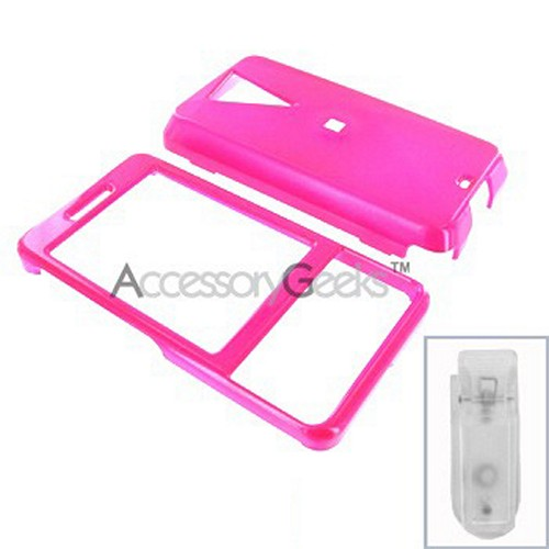 HTC Fuze Hard Case - Hot Pink