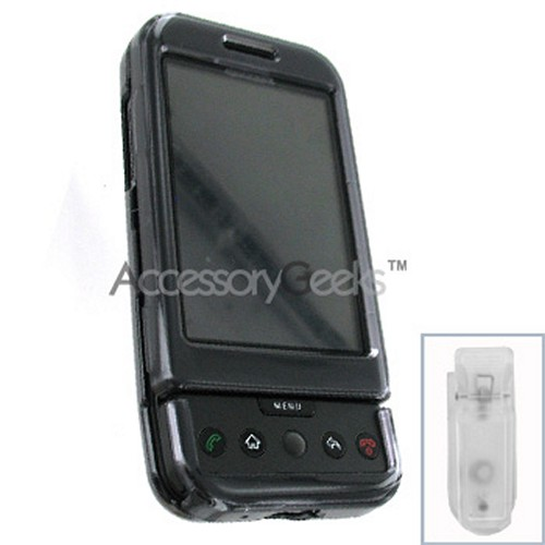 HTC Google G1 Hard Case - Transparent Smoke