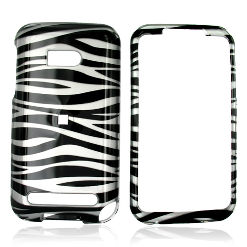 Verizon HTC Imagio Hard Case - White/Black Zebra