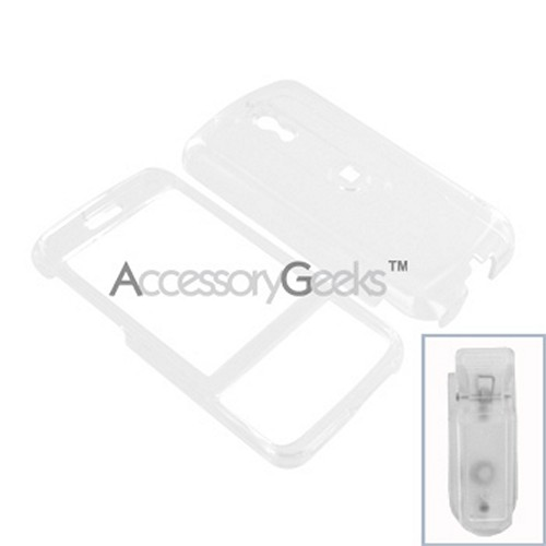 HTC Touch Pro Hard Case - Transparent Clear