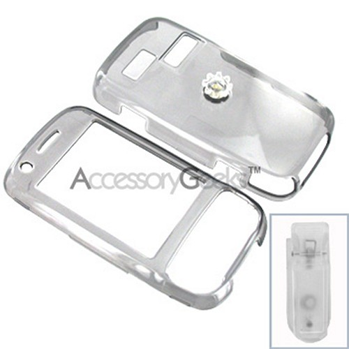 AT&T HTC Tilt 8925 Protective Hard Case - Transparent Smoke