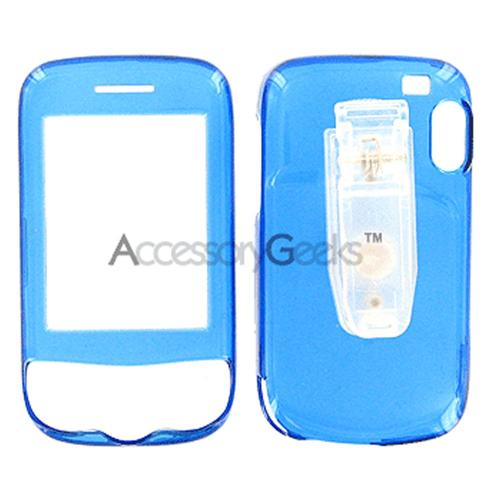 T-Mobile Wing Protective Hard Case - Transparent Blue