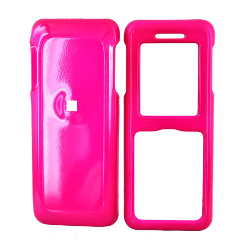 Kyocera Domino S1310 Hard Case - Hot Pink