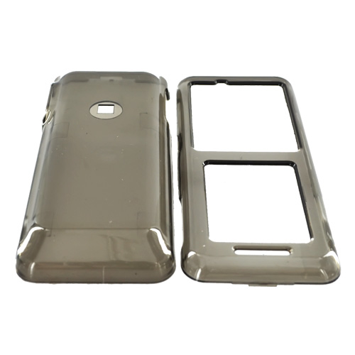 Kyocera Domino S1310 Hard Case - Transparent Smoke