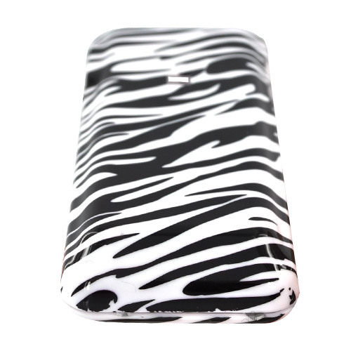 Kyocera Domino S1310 Hard Case - White/Black Zebra