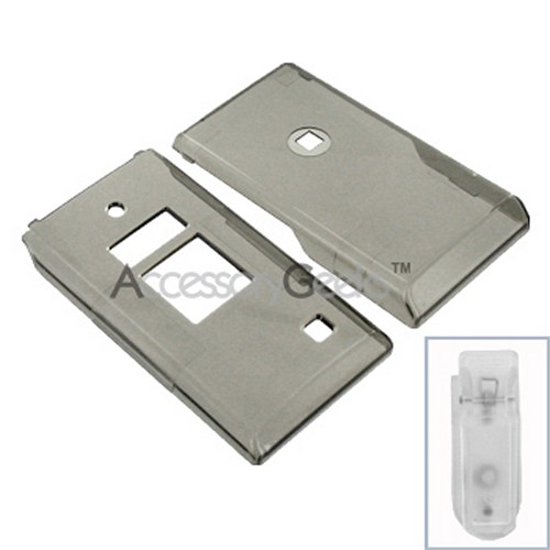Kyocera Mako Hard Case - Transparent Smoke