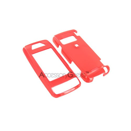 LG Voyager Hard Case - Transparent Red
