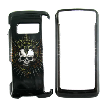 LG EnV Touch VX11000 Hard Case - Cross Skull on Black