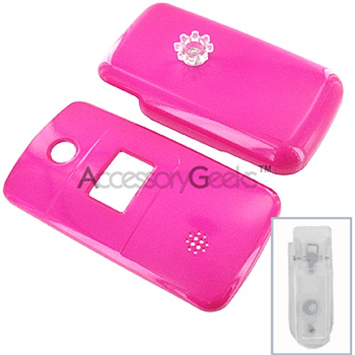 LG AX-275 Protective Hard Case - Hot Pink