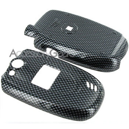 LG VX-5200 Hard Case with Belt Clip - Carbon Fiber