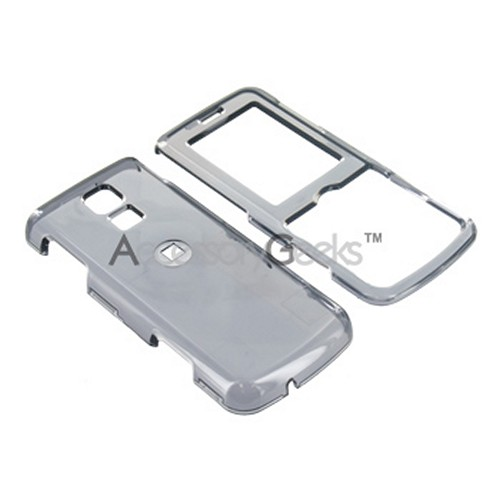 LG Glance VX7100 Hard Case - Transparent Smoke