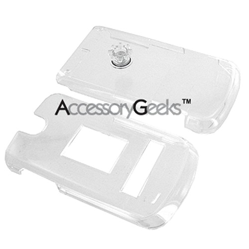 LG VX-8600 Hard Case w/ Clip - Clear