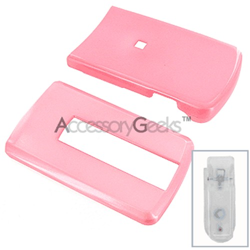 LG VX-8700 Protective Hard Case - Baby Pink