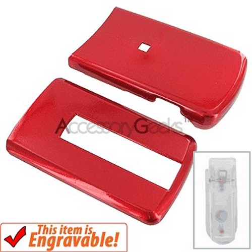 LG VX-8700 Protective Hard Case - Red